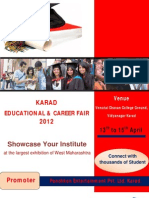 Educational Fair 2012 - Broucher
