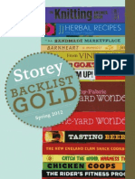 Storey's Backlist Gold - Spring 2012