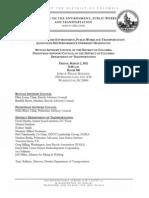 BAC-DDOT-PEDBAC hearing Witness List (3-2-12)