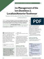 Restoration of the Worn Dentition. Part 2