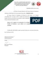 Certificación B-01-03-2012 (Actividad de Reconocimiento)