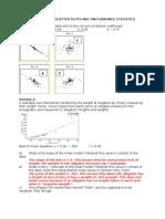 Interpret Scatter Plots Solutions)