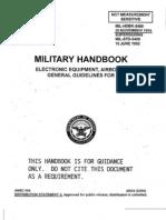 MIL-HNBK-5400 - Electronic Equipment, Airborne