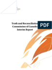 Truth and Reconciliation Commission's Interim Report