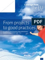 From Projects to Good Practices