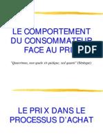 Le Consommateur Et Le Prix2011