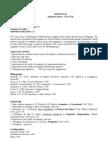 Course Description Filo 2011 2012
