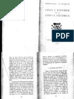 Crisis y Porvenir de La Ciencia Historica (Ogorman)