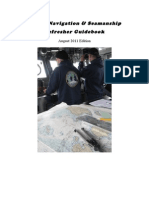 Coast Guard Bridge Navigation Refresher Guidebook (August 2011 Edition)