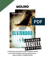 OLVIDADOS - Michael Grant - Dossier de Prensa - MOLINO
