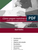 Cómo pagan nuestras empresas Estudio del modelo retributivo en Cataluña (EADA) -Feb12