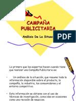 análisis de la situación en la Campaña Publicitaria