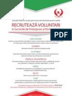 Afis Recrutare Voluntari A3 Si A2 Ro.18.03