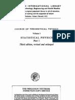 Vol 5 - Landau, Lifshitz - Statistical Physics Part 1