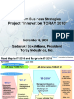 Toray Business Plan