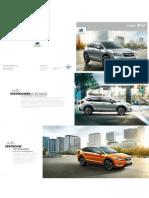 Subaru XV Brochure
