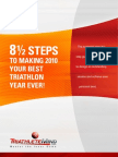 And a Half Steps to Best Triathlon Year Ever