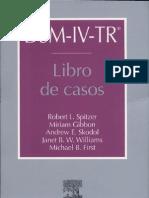 DSM-IV-TR Libro de Casos