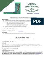 March-April Workshop Listing