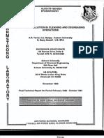 Tarrer Et Al 1993 EPA-600-R-93-191 Solvent Minimization,PDF