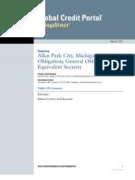 S&P Report - Allen Park