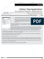 INZ1111 Visitors Visa