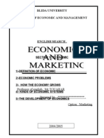 Economie and Marketing