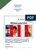 Día Mundial del Riñón Salud Renal San Luis