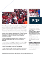 Protect Our Jobs Fact Sheet