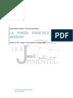 Hesíodo y la poesía didáctica-2010