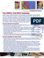 Junk mail U.S. factsheet