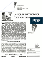 Anuncio Sealed Book AMORC 1960 Popular Mechanics