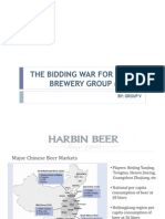 The Bidding War for Harbin Brewery Group..
