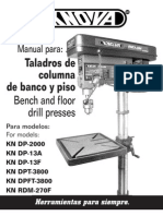 Manual de Taladro