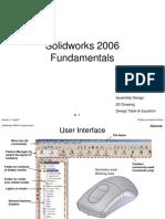 Solid Works 2006 Fundamentals