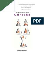CONICAS (guia teorica-práctica 2012)