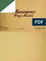 Meccano Prize Models 1915