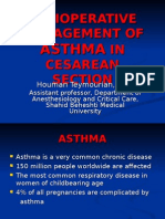 Perioperative Management of Asthma in Cesarean Section