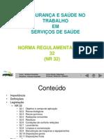 NR 32 Areas Apoio 2011