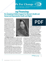 ARROWs for Change bulletin Vol. 17 No. 1 (Repoliticising Financing
