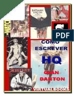 COMO ESCREVER UMA HISTÓRIA EM QUADRINHOS,  Gian Danton