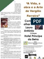 Folheto Lauro António