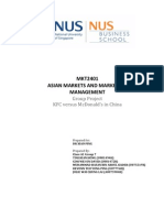 Asian Markets Group Report