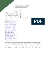 Gambar Skema Rangkaian Fm Transmitter