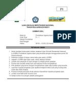 Soal Latihan Ujian Nasional 1-50 Februari 2011 ( PAKET 2 )