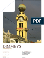 Save Dimmeys. NEWS FLASH
