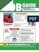 The Job Guide Volume 24 Issue 5 Arkansas