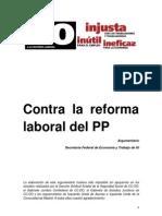 20120222 Argument a Rio Reforma Laboral PP (1)