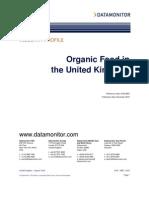 Data Monitor UK Organic Food