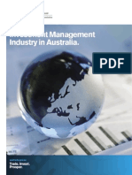 Investment Management Industry in Australia[1]